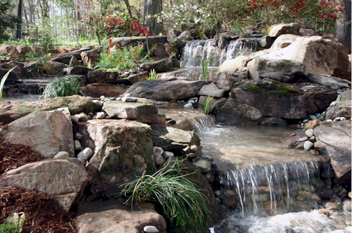 Pondless waterfalls features the pond doctor for Waterfall features for ponds