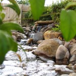 pondless cascading waterfalls