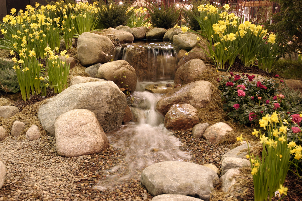 Ponds and pondless water features for sale the pond doctor for Water features