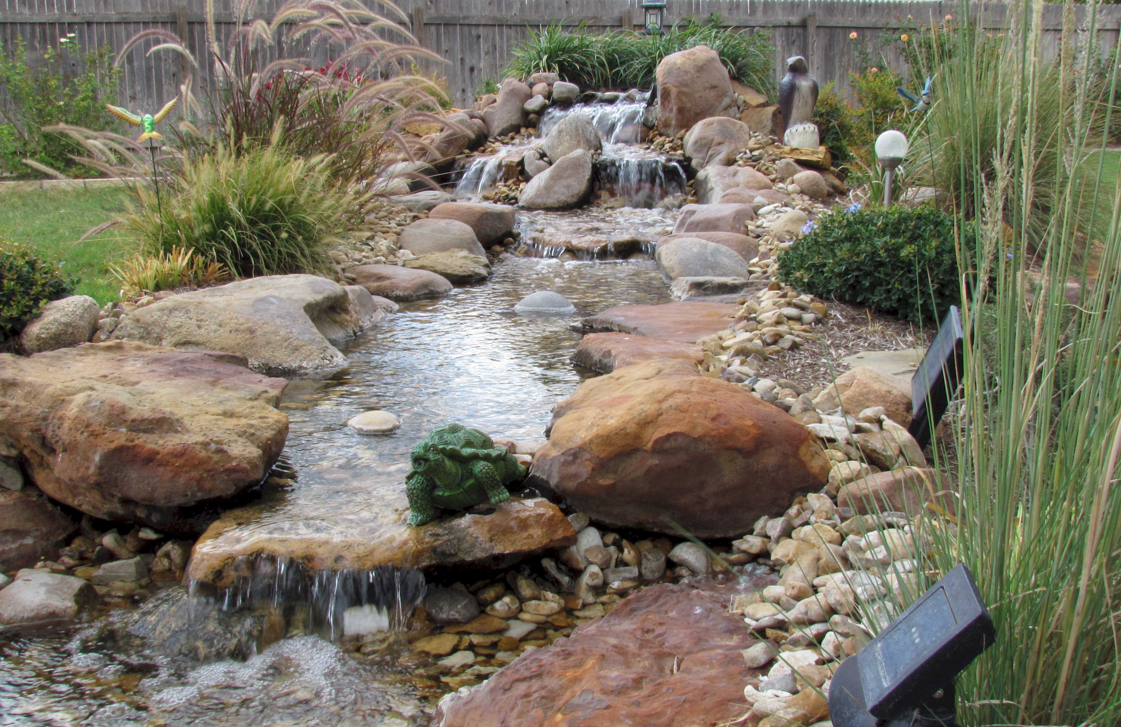 Ponds And Pondless Water Features For Sale - The Pond ... on Small Backyard Pond With Waterfall id=68165