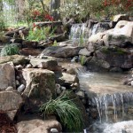 split stream pondless waterfalls