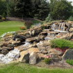 hillside pondless waterfalls