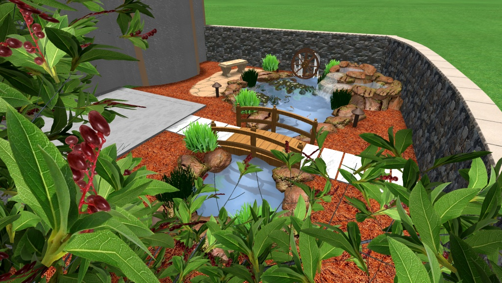 pond design georgetown texas