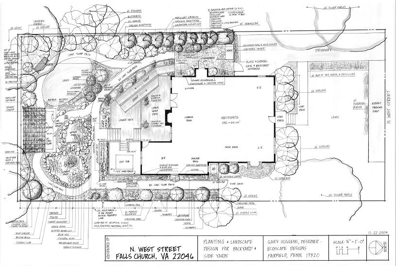 Landscape design and installation austin texas round rock for Landscape plan drawing